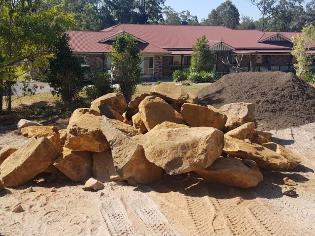 Bush Rock Gold Coast and Tweed delivered 6 days a week call today for our great rates