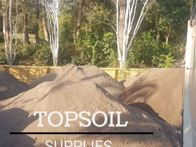 Gold Coast Top Soil freshly screened and delivered by gold Coast Gravel and Soil Supplies