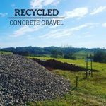Recycled Concrete gravels